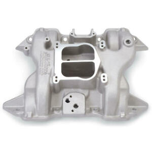 Edelbrock Intake Manifold 2191 Performer Satin Aluminum For Chrysler rb Mopar