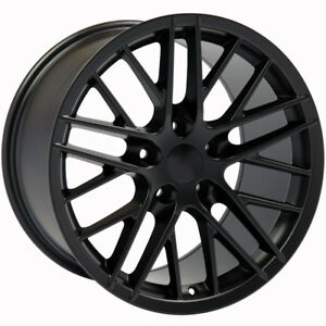 Matte Black Wheel 17x9 5 For 1993 2002 Chevy Camaro Owh3269