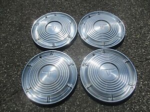 Factory 1964 Oldsmobile 14 Inch Hubcaps Wheel Covers