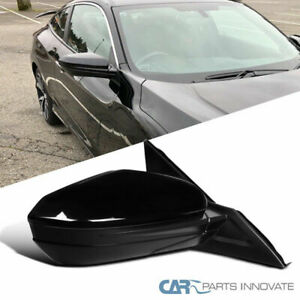 For 16 18 Honda Civic Power Heated 5 Pin Passenger Right Fold View Side Mirror