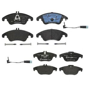 Brembo Front Rear Low Met Brake Pads And Sensors Kit For Mercedes W204 W207 W212
