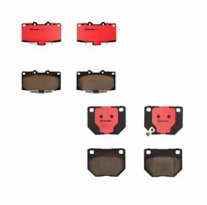 Front And Rear Brembo Brake Ceramic Pads Set Kit For Nissan 300zx 1993 1996