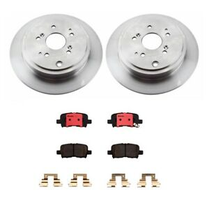 Brembo Rear Brake Kit Ceramic Pads Disc Rotors 313 Mm For Acura Mdx Honda Pilot