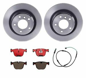 Brembo Rear Brake Kit Ceramic Pad Disc Rotors For Bmw F22 F23 F32 F33 With P337a