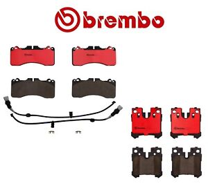 New For Lexus Ls460 Sport Package Front Rear Disc Brake Pads Set Brembo Kit