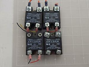 Lot Of 4 Crydom Csd2450 Solid State Relays T88893