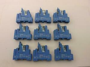 Lot Of 9 Finder 44 62 95 95 1 Relay T36496