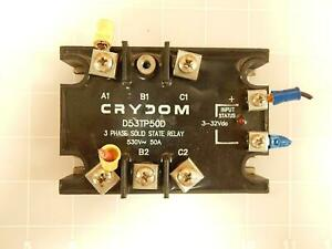 Crydom D53tp50d 3 Phase Solid State Relay T66216