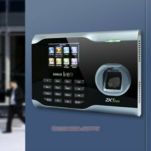 New Fingerprint Time Clock Attendance System With Tcp ip And Wifi Function usb