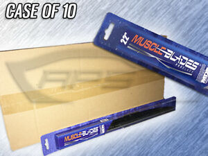 Muscle Blades 22 Traditional Windshield Wiper Blade Mdb 22 Case Of 10