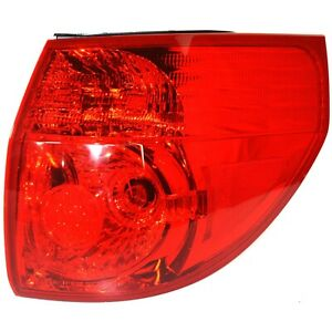 Tail Light For 2006 2010 Toyota Sienna Rh Outer