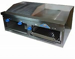 Comstock castle Fhp48 24 1rb 48 Countertop Gas Griddle Charbroiler