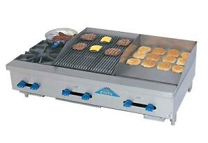 Comstock castle Fhp72 48 1rb Griddle Charbroiler Gas Countertop