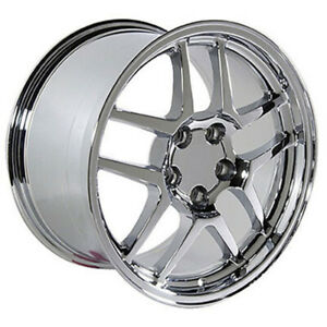 Chrome Wheel 17x9 5 For 1993 2002 Chevy Camaro Owh0091