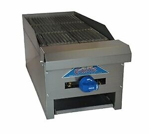 Comstock castle Elb18 Countertop Natural Or Propane Gas Charbroiler