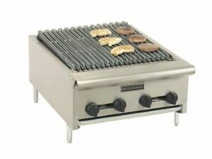 Comstock castle Erb18 Countertop Natural Or Propane Gas Charbroiler