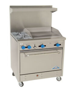 Comstock castle F330 24 Range 36 Restaurant Gas