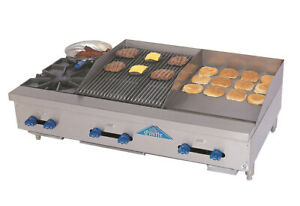 Comstock castle Fhp48 18 1 5rb 48 Countertop Gas Griddle Charbroiler