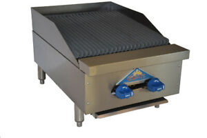Comstock castle Fhp18 1 5rb Countertop Gas Charbroiler