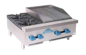 Comstock castle Fhp30 12 1 5lb Griddle Charbroiler Gas Countertop