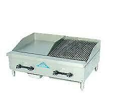 Comstock castle Fhp30 12 1 5rb Griddle Charbroiler Gas Countertop