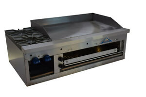 Comstock castle Fhp48 36b Griddle Hotplate Gas Countertop