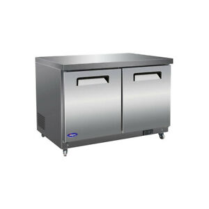 Valpro Commercial Refrigeration Vpucf48 Freezer Undercounter Reach in