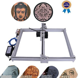 2500mw Cnc Laser Engraver Kit Wood Carve Cut Machine Printer Logo Picture 40x50
