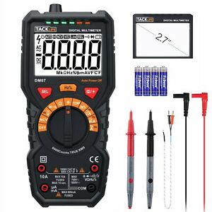 Multimeter Tacklife Dm07 6000 Counts Auto ranging Electrical Tester Ac dc Volt