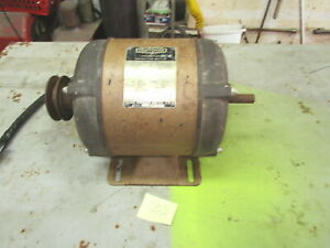 Craftsman 1hp Electric Motor 115 230 V Single Phase 3450 Rpm tested