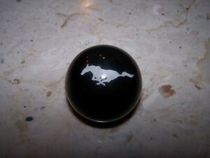 Really Nice Hard To Find Mustang Gear Shift Round Knob W Mustang Image Gc