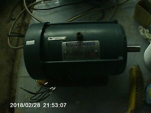 Reliance Electric 5 Hp 3 Phase Electric Motor