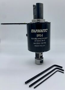 Tapmatic Spd 5 Reversible Tapping Attachment M3 m12 6 1 2 Free Shipping