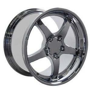 Chrome Wheel 18x10 5 For 1993 2002 Chevy Camaro Owh0281