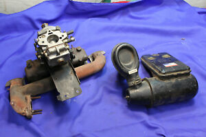 Mg Mgb 75 80 Carburetor Intake Exhaust Manifold Assembly