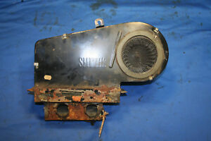 Mg Mgb Original Heater Assembly With Working Fan Motor