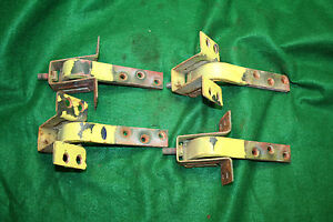 Mg Mgb Complete Original Door Hinge Set