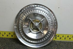 Oem Gm Single 15 Spinner Hub Cap Wheel Cover 1959 Buick Lasabre Electra 898