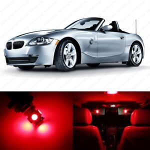10 X Red Led Interior Light Package For 2003 2008 Bmw Z4 E85 E86 Pry Tool