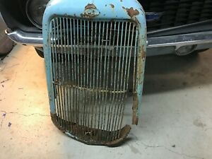 1932 Ford Commercial Grille Shell Radiator Original Truck Old Skool Rat Rod
