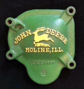 John Deere Cast Iron Drill Planter Side Cover Panel Z1051 h 2 Legged Deere Vtg