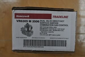 Honeywell Vr8305m3506 Dual Valve Direct hot Surface Ignition Combination Control