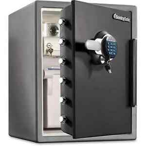 Fire safe Xx Large Digital Lock Fire Safe 2 07 Ft Gunmetal Black Grey