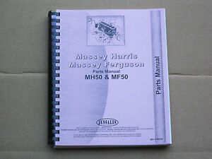 Jensales Parts Manual For Massey Ferguson Mf 50 Harris