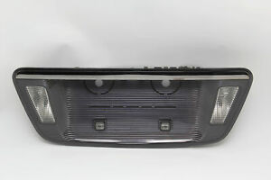 Acura Tl Type s Trunk License Plate Lamp Finish Reflector Panel Garnish 07 08