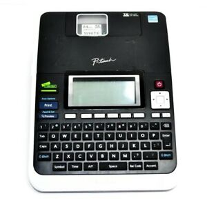 Brother P touch Pt2730 Desktop Label Maker Tested Ac Cord Included Keyboard