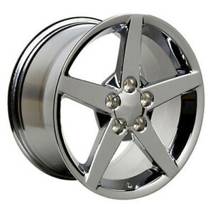 Chrome Wheel 18x9 5 For 1993 2002 Chevy Camaro Owh0462