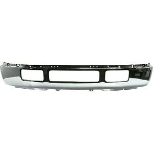 Front Bumper For 2005 2007 Ford F 450 Super Duty F 550 Super Duty Chrome Steel