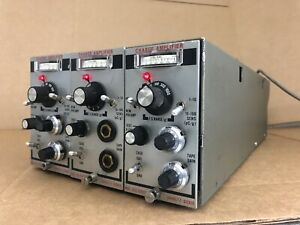 Lot Of 3 Unholtz Dickie D22 Series Charge Amplifier D22 Cabinet Atomic Era