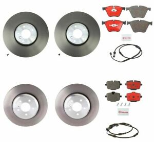 Front Rear Brembo Brake Kit Disc Rotors Ceramic Pad For Bmw F06 Alpina B6 Xd Gc